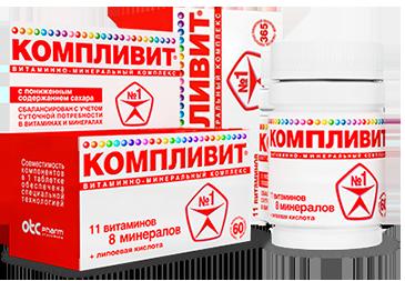 """Инструкция по применению """"Компливит"""", состав препарата и аналоги"""