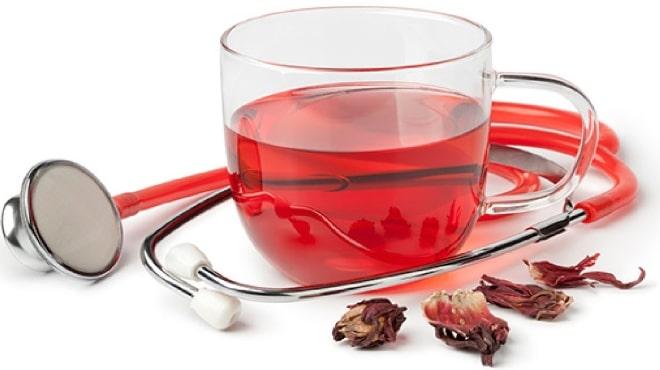 Чай с каркаде