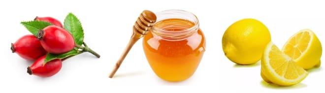 Лимон, облепиха, мёд